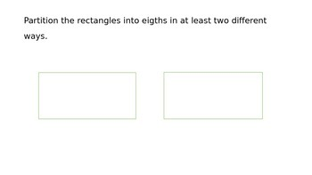 Third Grade Fraction and Geometry Review 3.G.2