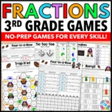 3rd Grade Fractions Games {Equivalent Fractions, Comparing
