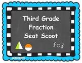 Third Grade Fraction Seat Scoot