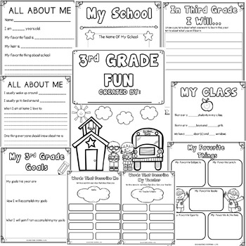 Back To School Activities {3rd Grade Fun}