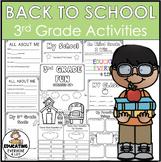 Back To School Activities 3rd Grade Fun