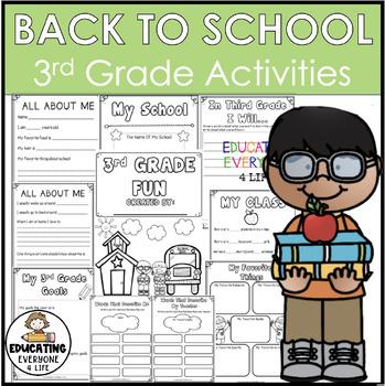 Back To School Activities {3rd Grade Fun}