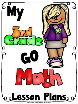 Third Grade Math Lesson Plan Chapter Dividers
