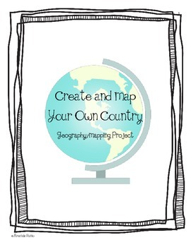 Third Grade Geography Map Project