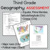 Third Grade Geography Test