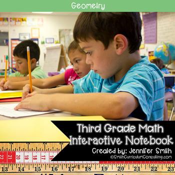 Third Grade- Geometry Interactive Notebook