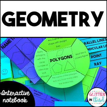 Geometry & Shapes - Math Interactive Notebook