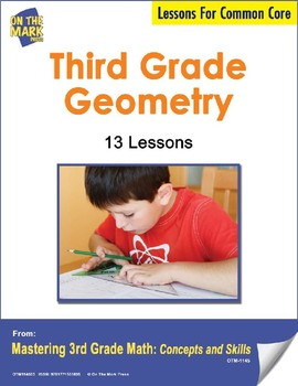 Third Grade Geometry Lesson Plans -  Aligned to Common Core