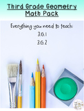 Third Grade Geometry Math Pack
