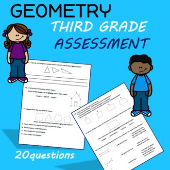 Third Grade Geometry Test