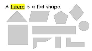 Third Grade Geometry Vocabulary Slideshow 3.G.1