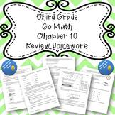 Third Grade Go Math Chapter 10 Review Homework