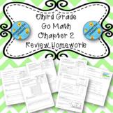 Third Grade Go Math Chapter 2 Review Homework