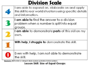 Third Grade Go Math Chapter 6 Lesson Power Points