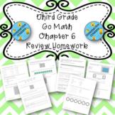 Third Grade Go Math Chapter 6 Review Homework