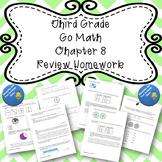 Third Grade Go Math Chapter 8 Review Homework