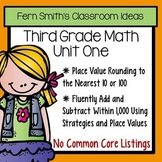3rd Grade Go Math Chapter One Addition and Subtraction Within 1,000 Bundle