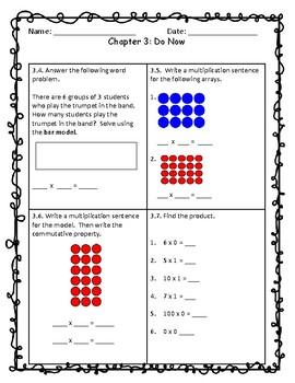 Third Grade Go Math Do Now