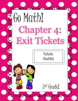 Third Grade Go Math Exit Tickets