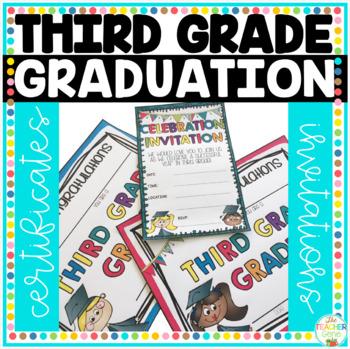 Third Grade Graduation Certificates & Third Grade Invitations