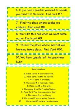 3rd Grade Grammar Test Prep Scavenger Hunt
