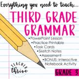 Third Grade Grammar and Language Bundle