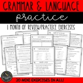 Third Grade Grammar and Language Practice