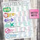 Third Grade Grammar and Language Unit on Prefixes