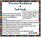 Third Grade Grammar and Mechanics Pronouns