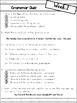 Third Grade Grammar practice and assessments