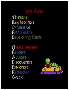 Third Grade Growth Mindset Poster