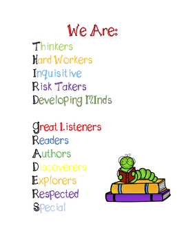 Third Grade Growth Mindset Poster