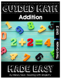Third Grade Guided Math ~ Addition