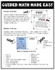Third Grade Guided Math ~ Addition