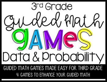 Third Grade Guided Math Data Games