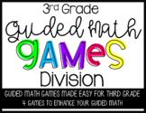 Third Grade Guided Math Division Games
