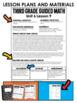 Third Grade Guided Math Measurement, Perimeter, Area, and