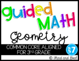 Third Grade Guided Math Geometry