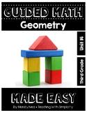 Third Grade Guided Math ~ Geometry