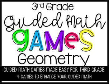 Third Grade Guided Math Geometry Games