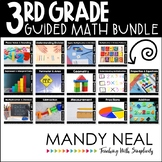 Third Grade Guided Math ~ Growing Bundle