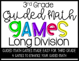 Third Grade Guided Math Long Division GAMES