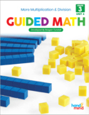 Third Grade Guided Math Multiplication and Division Problem Solving