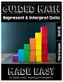 Third Grade Guided Math ~ Represent and Interpret Data