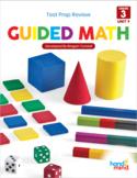 Third Grade Guided Math Spiraled Review Test Prep