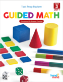 Guided Math Third Grade Unit 9: Spiraled Review Test Prep