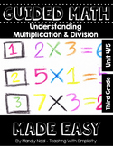 Third Grade Guided Math ~ Understanding Multiplication and