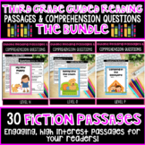 Third Grade Guided Reading Passages Fiction BUNDLE