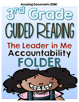Third Grade - Guided Reading Student Accountability Folder Kit