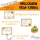 Third Grade Halloween Addition Subtraction Math Task Cards / Google Classroom